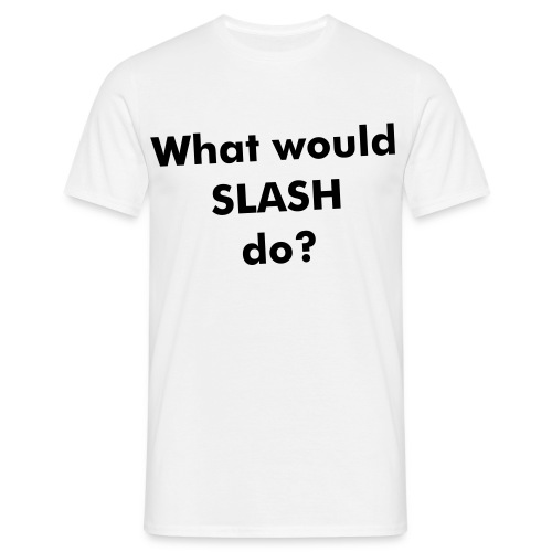 TEE WHAT WOULD... - T-shirt herr