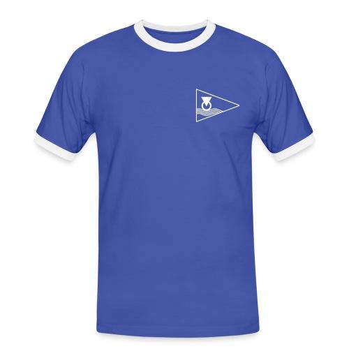 Logo-Herrentrikot - Männer Kontrast-T-Shirt