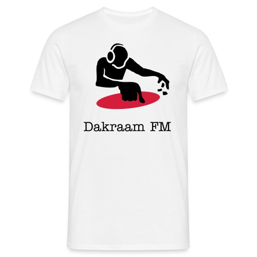 Dakraam sponsor shirt - Mannen T-shirt