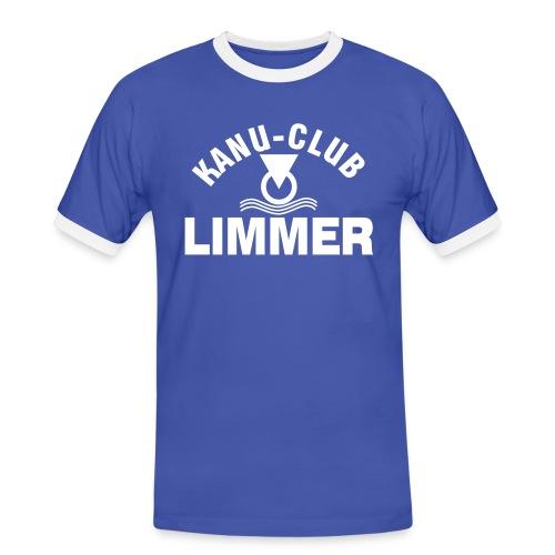 KCL-Retro-Shirt - Männer Kontrast-T-Shirt