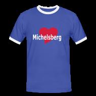 T-Shirts ~ Männer Kontrast-T-Shirt ~ T-Shirt Michelsberg - Siebenbürgen - Transylvania - Erdely - Ardeal - Transilvania - Romania - Rumänien