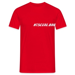 HTScene Classic Red - T-shirt Homme