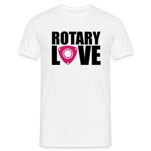 Rotary Love Tee - Men's T-Shirt