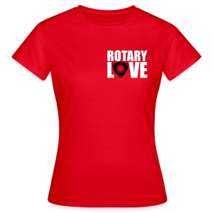 Rotary Love Red Tee - Women's T-Shirt