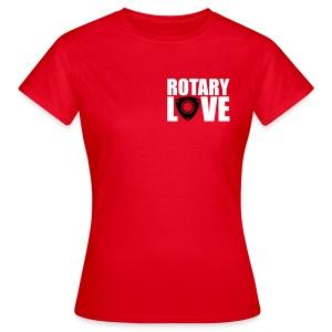 Rotary Love Red Tee - Women's T-Shirt
