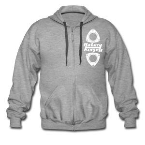 Rotary Symmetry Hoodie - Men's Premium Hooded Jacket
