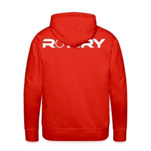 ROTARY Hoodie - Red - Men's Premium Hoodie
