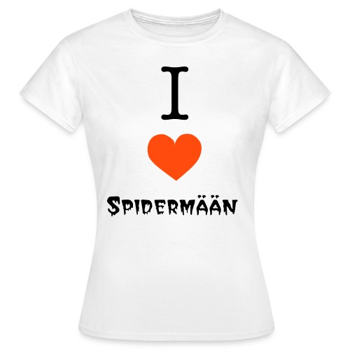 I love Spidermään (W) - Frauen T-Shirt