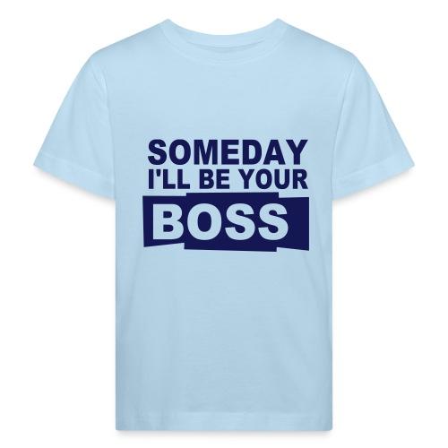 boss - Ekologiczna koszulka dziecięca