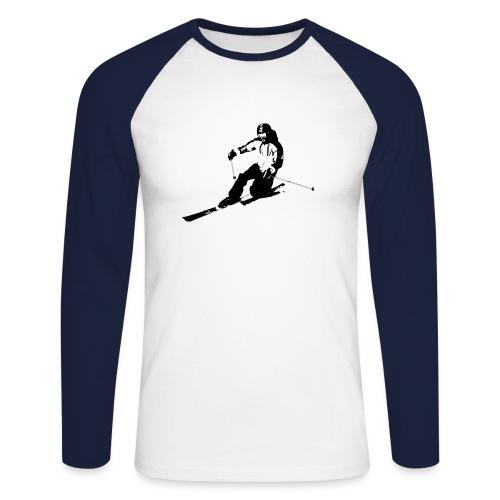 Cruising Telemarker Men - Männer Baseballshirt langarm
