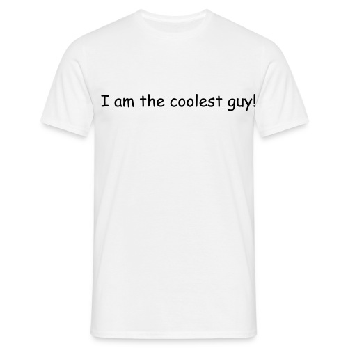 The coolest guy - Men's T-Shirt