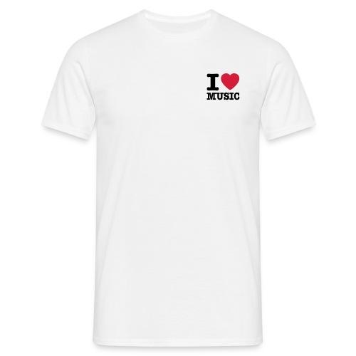 DJ @ Work - Männer T-Shirt