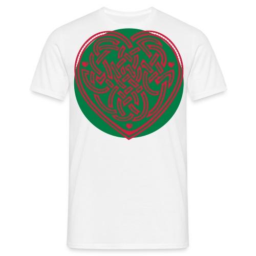Dragon Heart - Men's T-Shirt