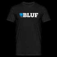 T-Shirts ~ Men's T-Shirt ~ Black t shirt, large logo