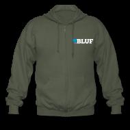 Hoodies & Sweatshirts ~ Men's Premium Hooded Jacket ~ Zip front hoodie