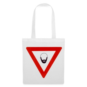 Warning: Beard T-shirt - Tote Bag