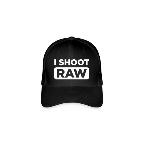 Shoot RAW - Base - Flexfit Baseballkappe