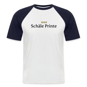 Schaele Printe - Männer Baseball-T-Shirt