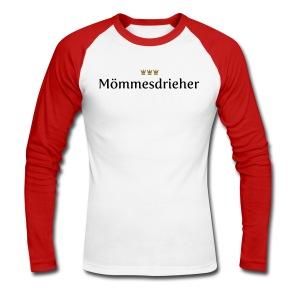 Moemmesdrieher - Männer Baseballshirt langarm