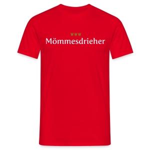 Moemmesdrieher - Männer T-Shirt