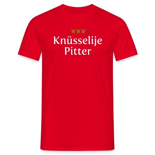Knuesselije Pitter - Männer T-Shirt