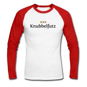 Knubbelfutz - Männer Baseballshirt langarm