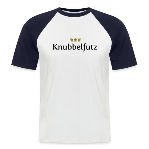Knubbelfutz - Männer Baseball-T-Shirt