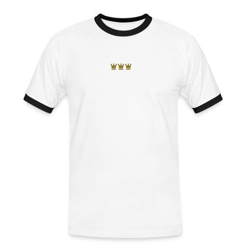 Knubbelfutz - Männer Kontrast-T-Shirt