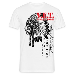 Viva El Toro! Sitting Bull For The Indigenous - Men's T-Shirt
