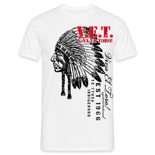 Viva El Toro! Sitting Bull For The Indigenous - Men's T-Shirt