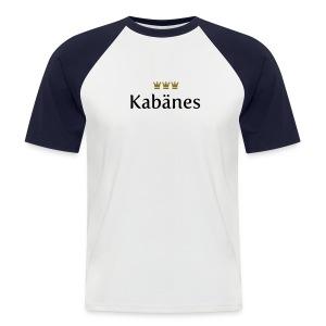 Kabaenes - Männer Baseball-T-Shirt