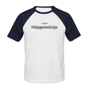 Hoeppemoetzje - Männer Baseball-T-Shirt