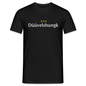 Dueuevelshungk - Männer T-Shirt
