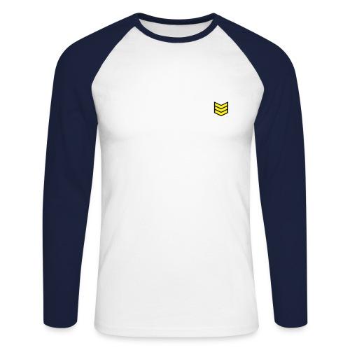 mens long sleeve top ( w.j rozay) - Men's Long Sleeve Baseball T-Shirt