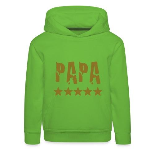 Papas Stern - Kinder Premium Hoodie