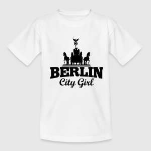 BERLIN CITY GIRL Kinder T-Shirts - Teenager T-Shirt