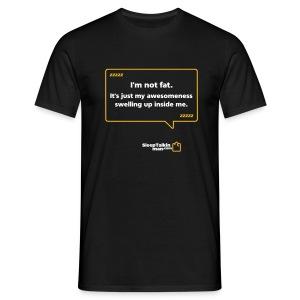 MENS: I'm not fat - Men's T-Shirt