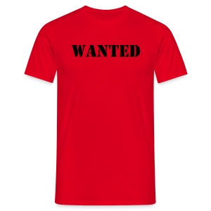 T-skjorte - Wanted - T-skjorte for menn