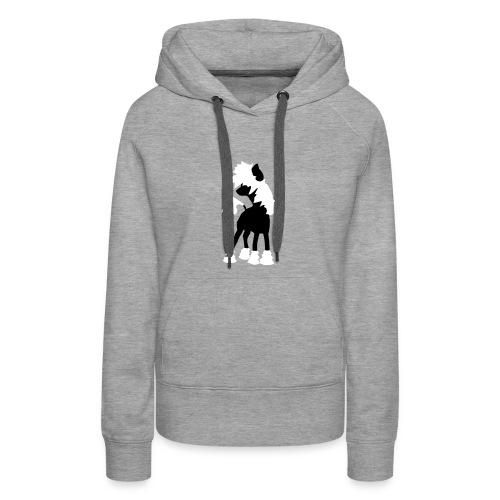 Chinese Crested Dog - Frauen Premium Hoodie