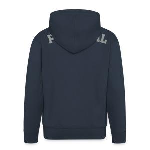 BLUZA PORTGAL - Rozpinana bluza męska z kapturem Premium
