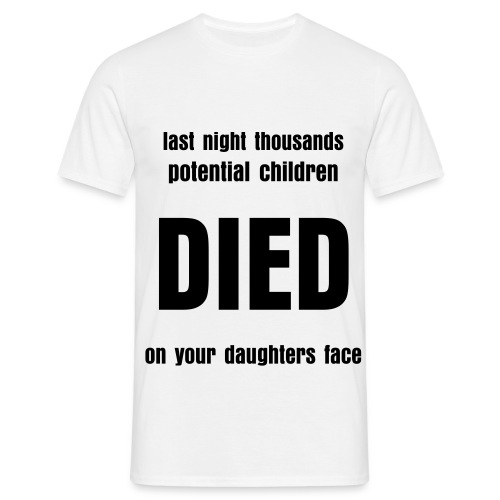 Every Fathers Dream - T-shirt herr