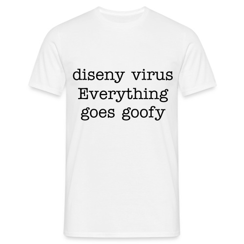 Diseny virus - Men's T-Shirt