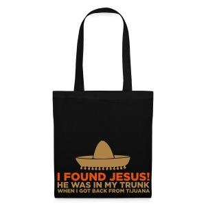 I found Jesus -tote bag, - Kangaskassi