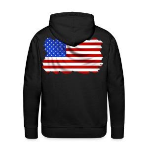 USA Sweatshirt capuche - Sweat-shirt à capuche Premium pour hommes