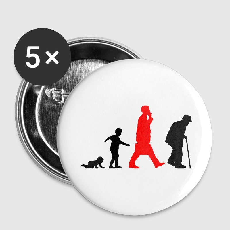 Human Aging (Vector) - Buttons groß 56 mm