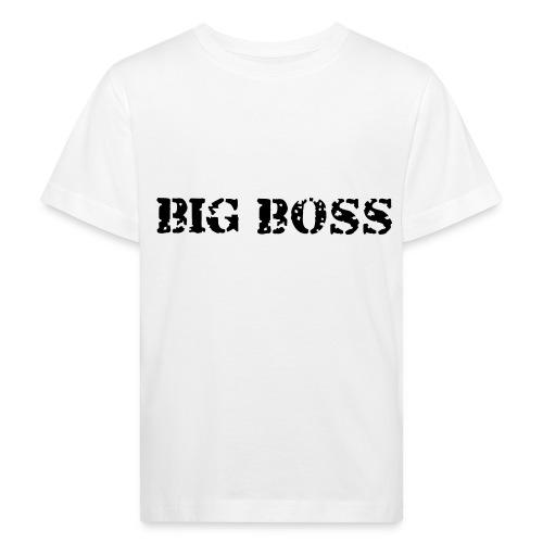 Bio-Shirt Big Boss - Kinder Bio-T-Shirt