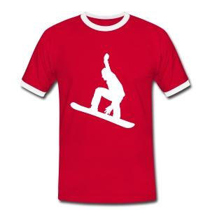 Contrastshirt Team Wonderfulldays - Mannen contrastshirt