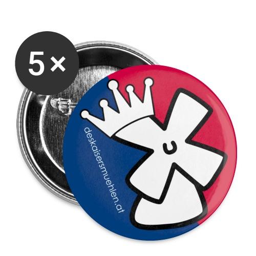 dkm-button - Buttons mittel 32 mm (5er Pack)