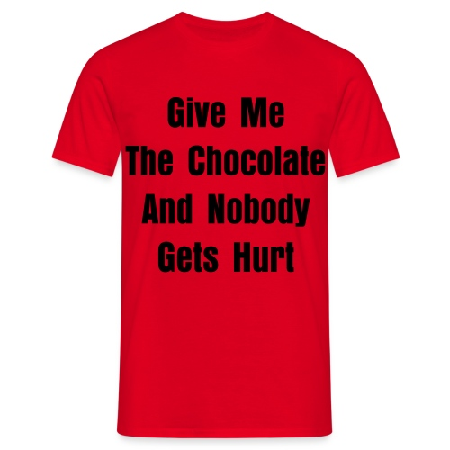 Give Me Chocolate - Men's T-Shirt