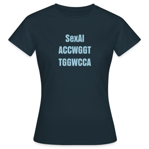 Sexal ACCWGGT TGGWCCA - Women's T-Shirt